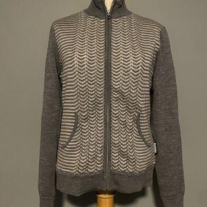 NWOT woman's Sunice lined wool sweater